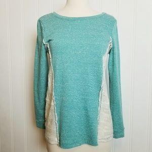 Stella Sky Sweatshirt with Sweater Panel